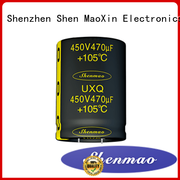 Shenmao snap in capacitor mount vendor for temperature compensation