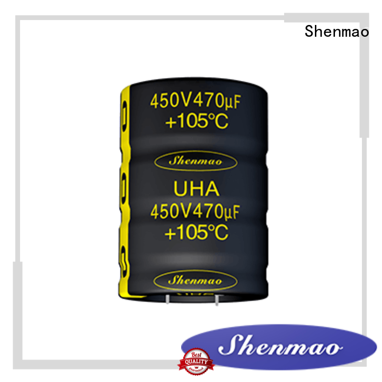 Shenmao 450 volt electrolytic capacitors supplier for timing