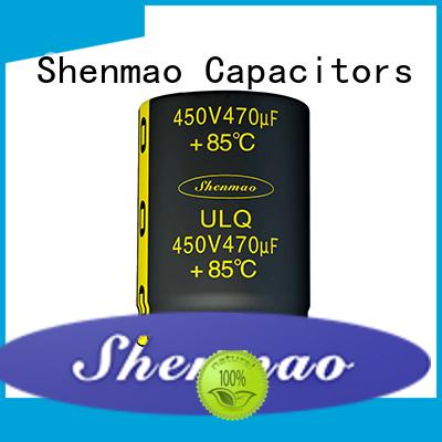 Shenmao 450 volt electrolytic capacitors vendor for temperature compensation