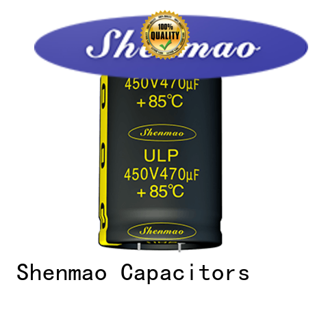 Shenmao fine quality snap-in capacitors supplier for energy storage