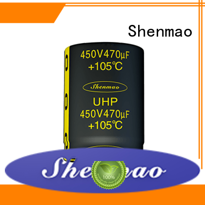 Shenmao durable Snap-in Aluminum Electrolytic Capacitor marketing for coupling