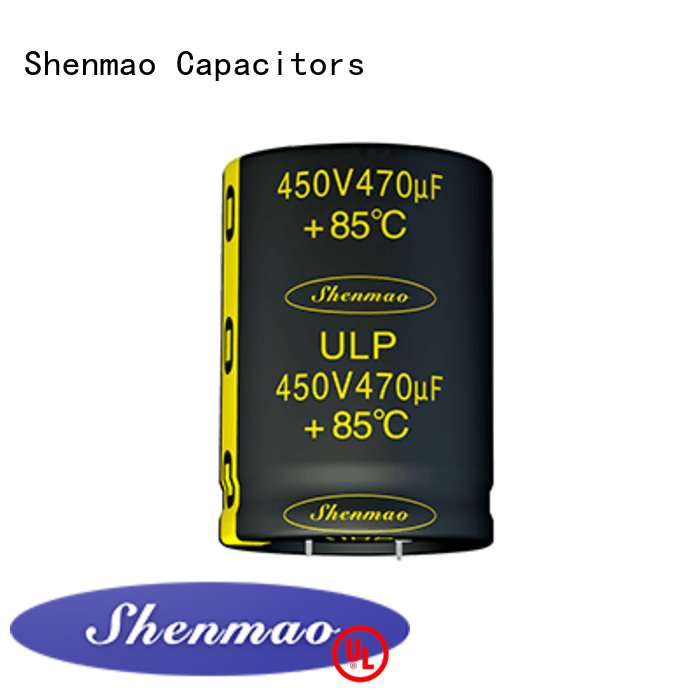 Shenmao high quality snap in capacitor vendor for timing