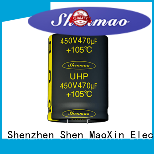Shenmao what is a snap in capacitor supplier for timing