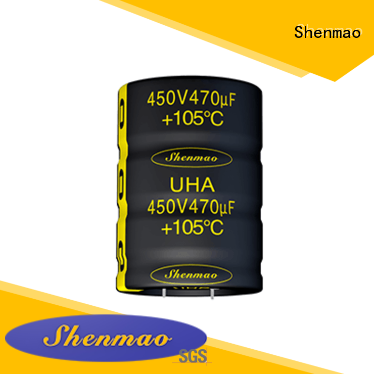 Shenmao snap in capacitor mount owner for filter