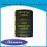 easy to use aluminium capacitor manufacturer marketing for temperature compensation