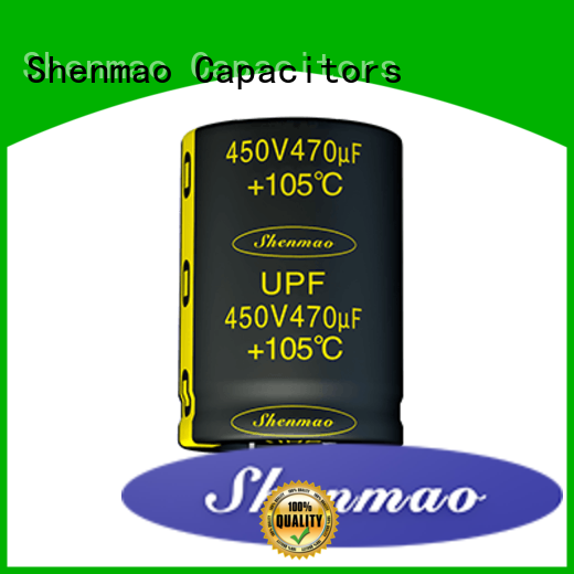 Shenmao Snap-in Aluminum Electrolytic Capacitor overseas market for energy storage