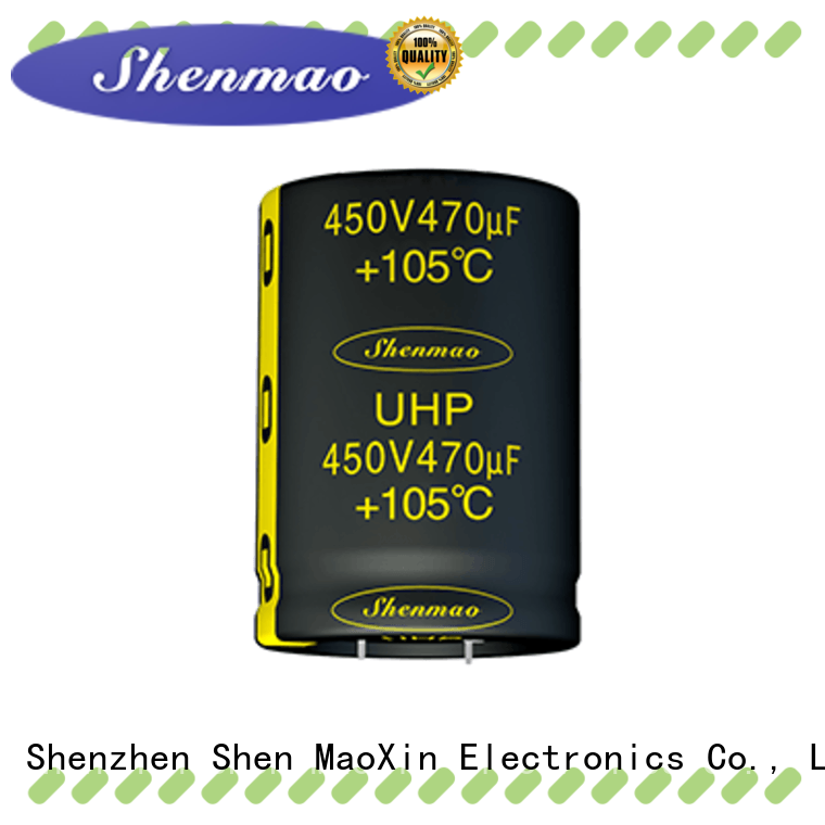 Shenmao snap in capacitor socket overseas market for rectification