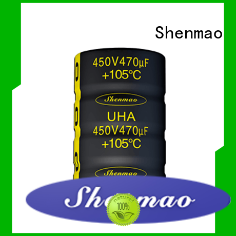 Shenmao 500v electrolytic capacitor supplier for temperature compensation