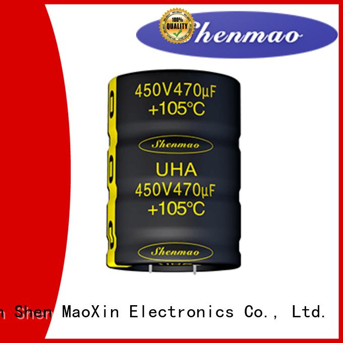 low profile aluminum electrolytic capacitors for energy storage Shenmao