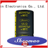 easy to use snap-in capacitors overseas market for temperature compensation