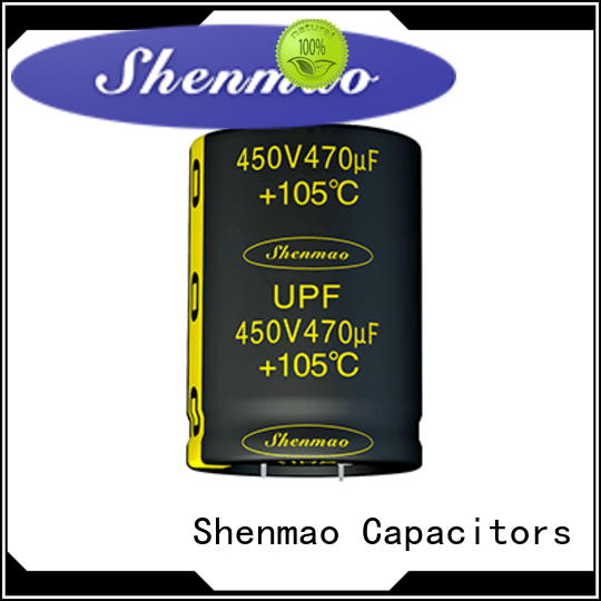Shenmao quality-reliable Snap-in Aluminum Electrolytic Capacitor supplier for tuning
