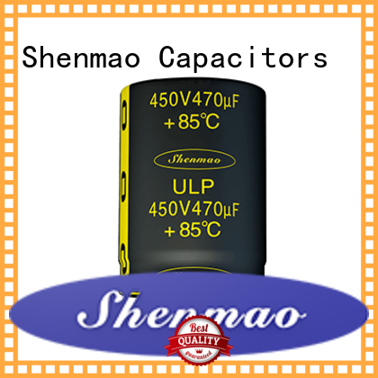 Shenmao Snap-in Aluminum Electrolytic Capacitor marketing for temperature compensation