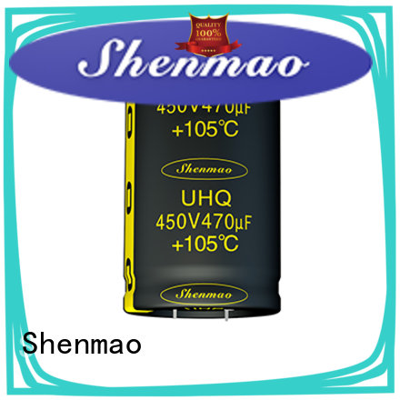 Shenmao aluminium capacitor manufacturer overseas market for rectification