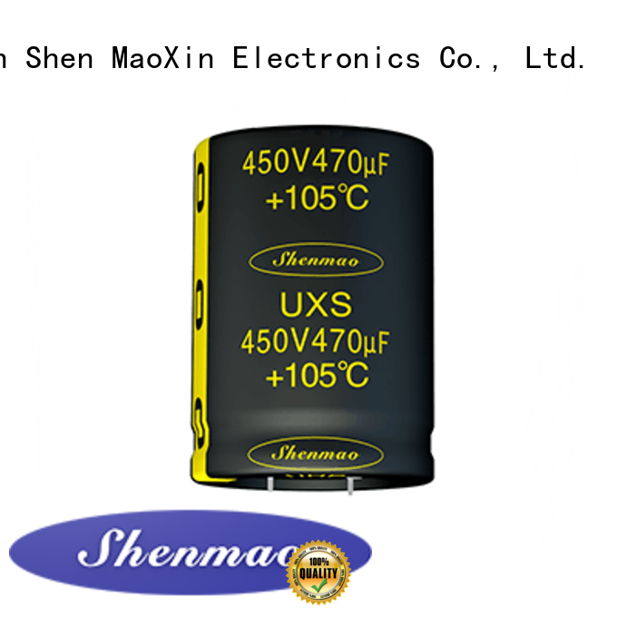 Shenmao snap in capacitor mount overseas market for rectification