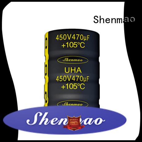 Shenmao aluminium capacitor manufacturer marketing for timing