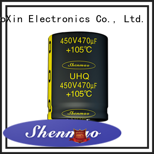 snap in aluminum electrolytic capacitors owner for DC blocking Shenmao