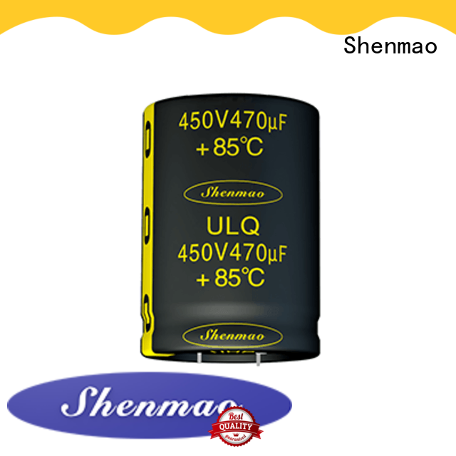 Shenmao high quality snap in capacitor mount overseas market for filter