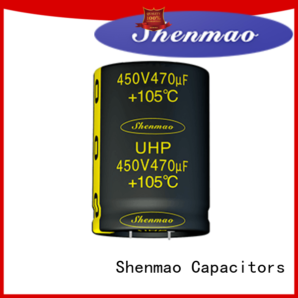 Shenmao fine quality snap in capacitor vendor for tuning