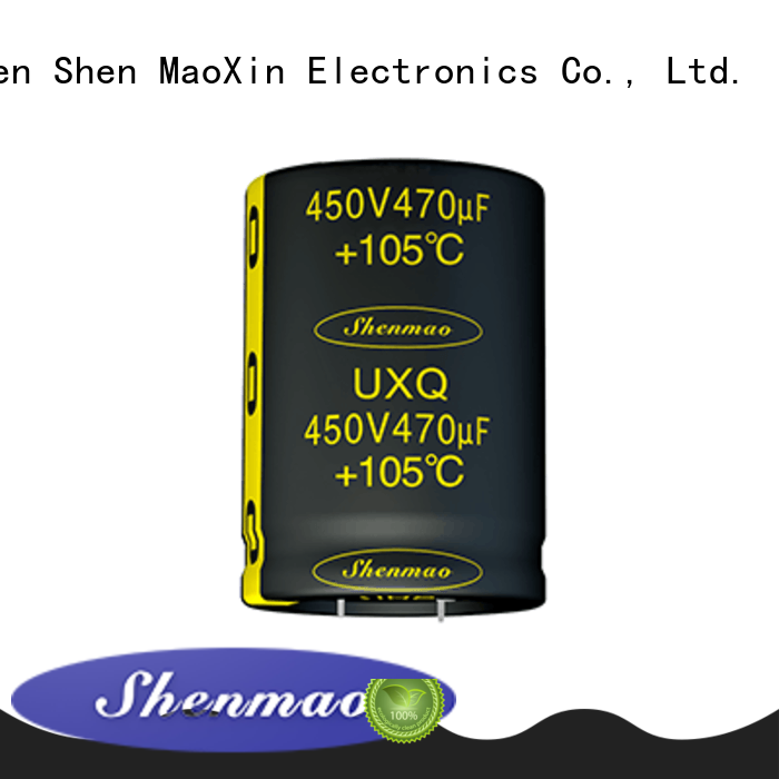 Shenmao fine quality what is a snap in capacitor bulk production for coupling