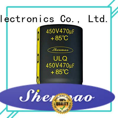 fine quality 450 volt electrolytic capacitors overseas market for DC blocking