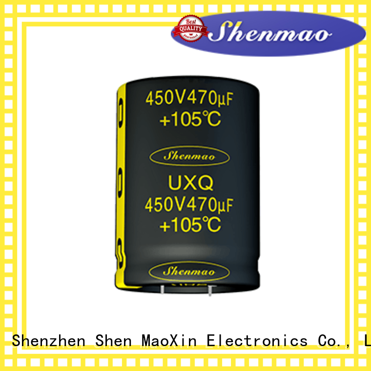 Shenmao 500v electrolytic capacitor marketing for coupling