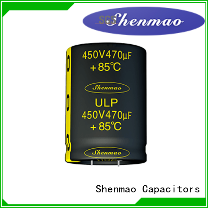 Snap-in Aluminum Electrolytic Capacitor for energy storage Shenmao