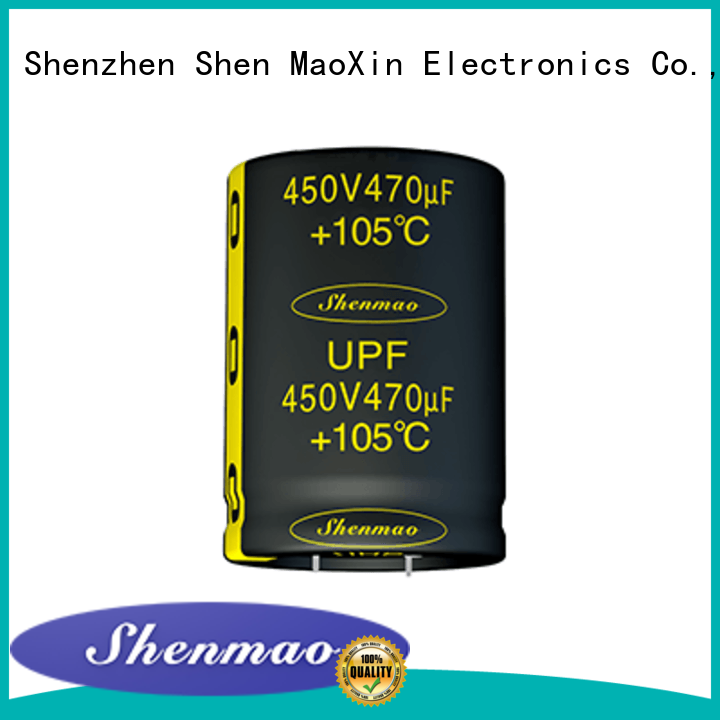 Shenmao Snap-in Aluminum Electrolytic Capacitor overseas market for timing