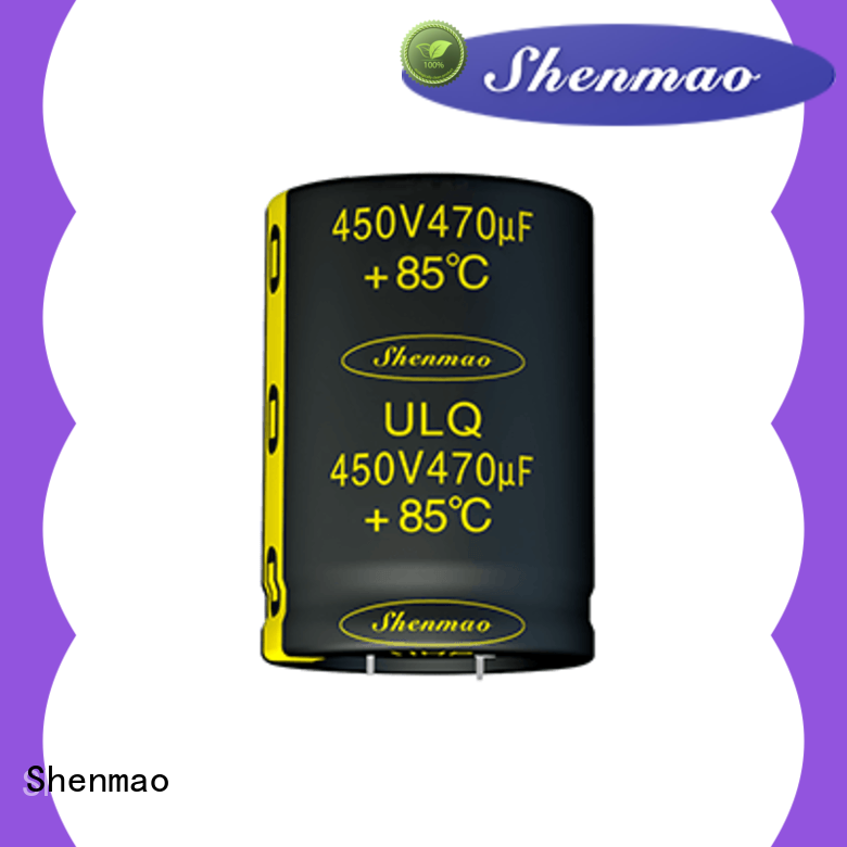 Shenmao snap in capacitor socket vendor for coupling