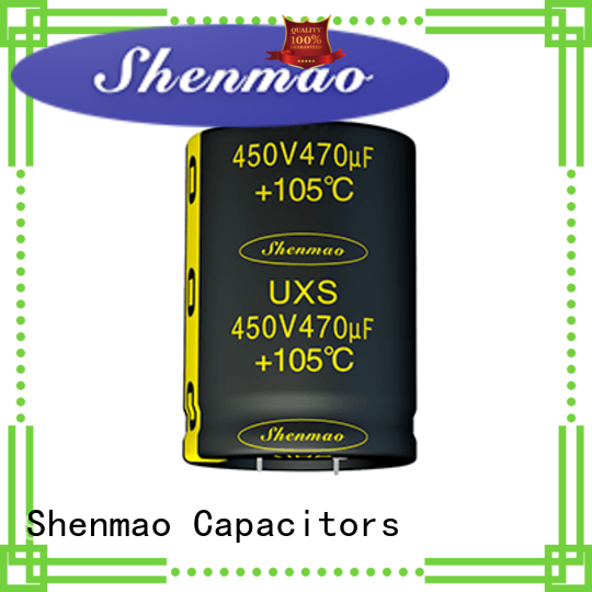 Shenmao satety snap-in capacitors bulk production for temperature compensation
