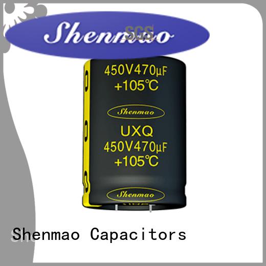 snap in aluminum electrolytic capacitors bulk production for temperature compensation