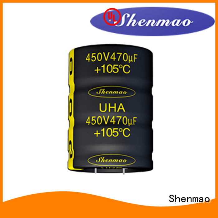 Shenmao good to use Snap-in Aluminum Electrolytic Capacitor vendor for timing