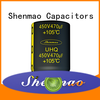 Shenmao snap in electrolytic capacitors overseas market for energy storage