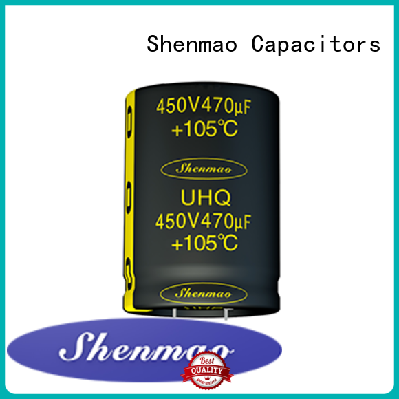 Shenmao what is a snap in capacitor vendor for energy storage