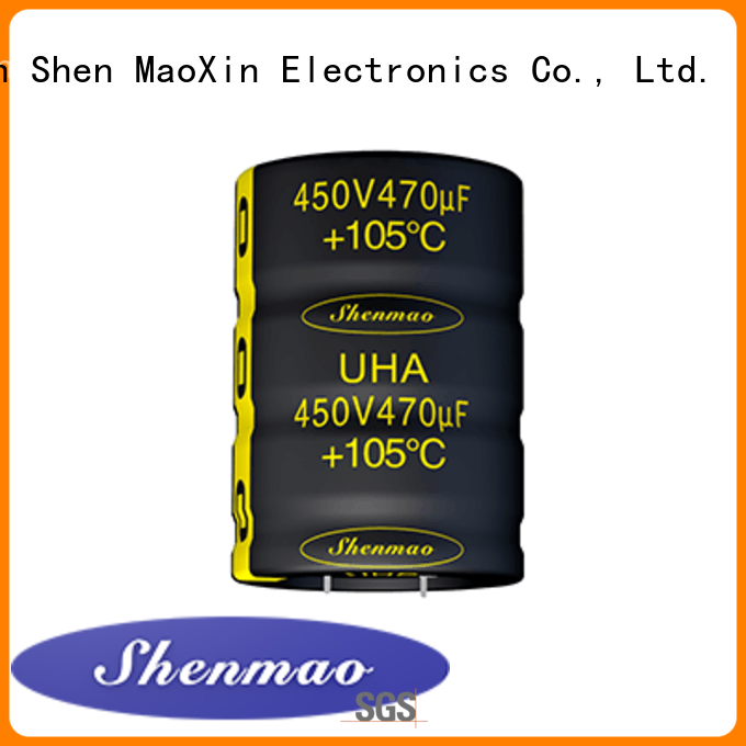 Shenmao what is a snap in capacitor bulk production for rectification