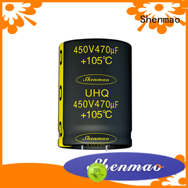 Shenmao 450 volt electrolytic capacitors overseas market for coupling