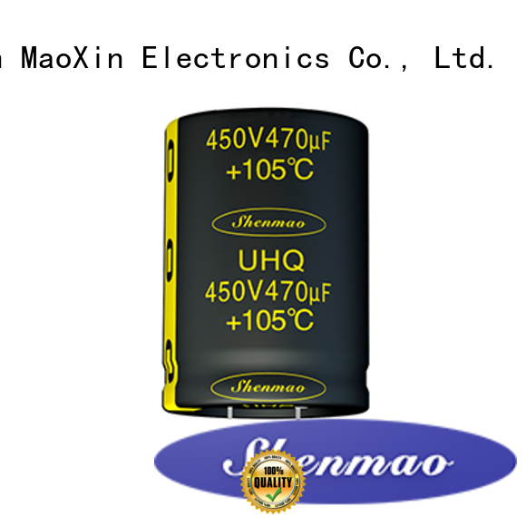 Shenmao 500v electrolytic capacitor overseas market for timing