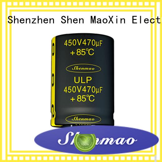 Shenmao 500v electrolytic capacitor supplier for filter