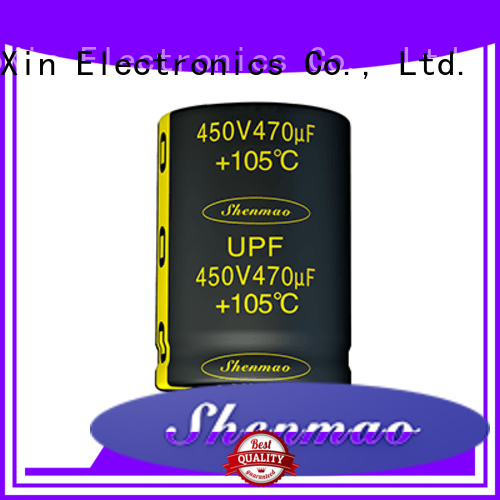 Shenmao Snap-in Aluminum Electrolytic Capacitor supplier for coupling