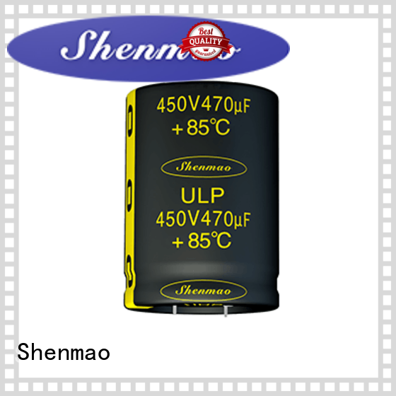 Shenmao snap in aluminum electrolytic capacitors owner for coupling