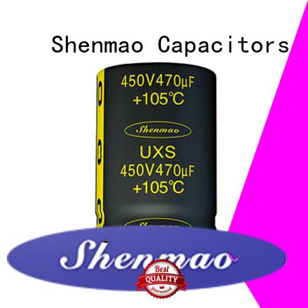 Shenmao fine quality 500v electrolytic capacitor overseas market for DC blocking