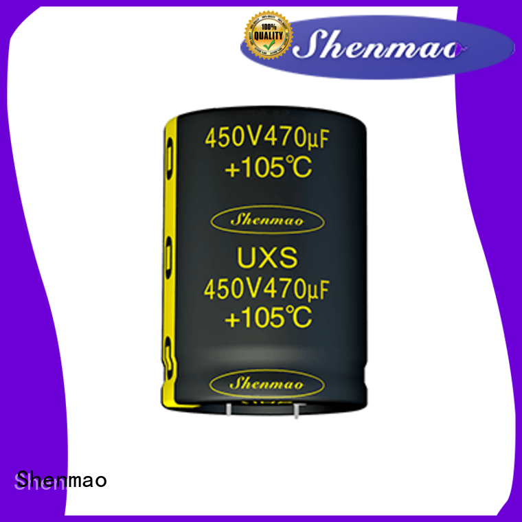 Shenmao Snap-in Aluminum Electrolytic Capacitor marketing for rectification