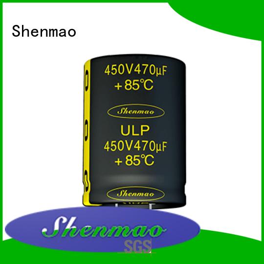 Shenmao satety 500v electrolytic capacitor owner for DC blocking