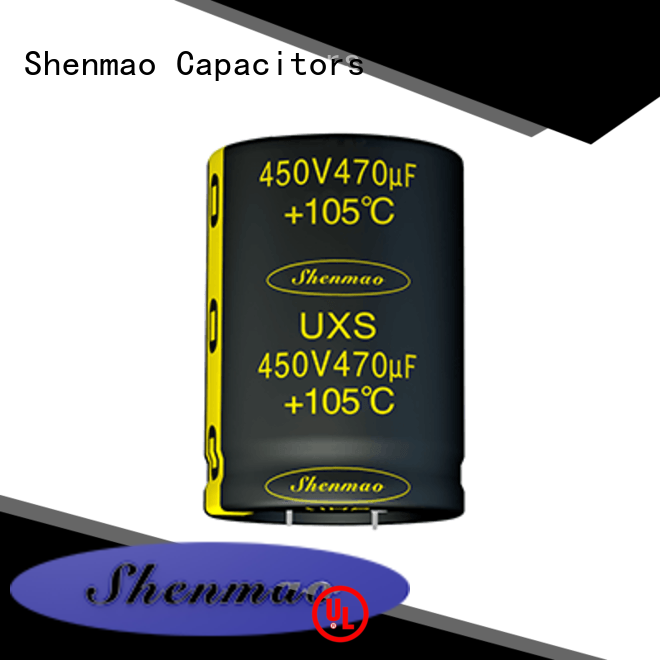 Shenmao snap in capacitor socket bulk production for rectification