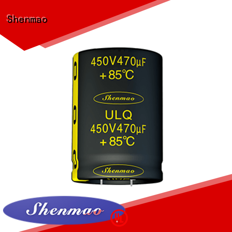 Shenmao 450 volt electrolytic capacitors supplier for tuning