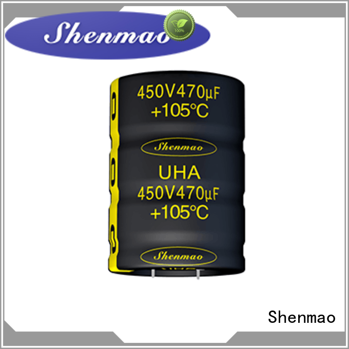 Shenmao snap in capacitor mount vendor for energy storage