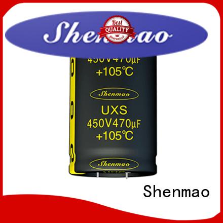 Shenmao snap in capacitor socket vendor for tuning
