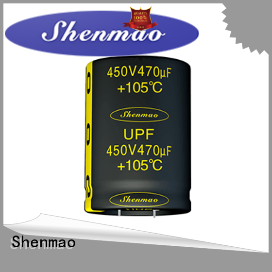 Shenmao what is a snap in capacitor overseas market for rectification