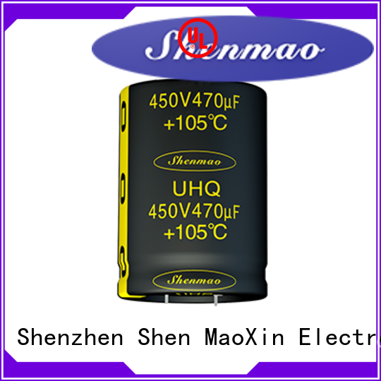 Shenmao snap in aluminum electrolytic capacitors owner for tuning