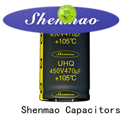 Shenmao 500v electrolytic capacitor vendor for tuning