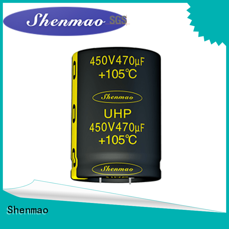 Shenmao stable snap in capacitor socket vendor for energy storage